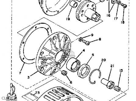free yamaha atv wiring diagram yamaha rc100s/kt100s race kart parts list partsmanual ...