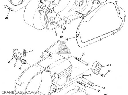 yamaha rd200 1974 usa parts list partsmanual partsfiche