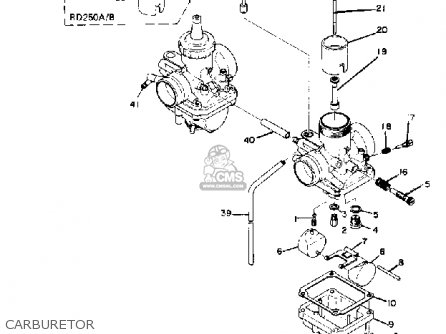 Wire Diagram 1973 Yamaha Rd250