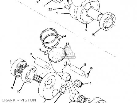 yamaha-rd250-1974-usa-crank-piston_mediumyau1182a-8_ad8f Yamaha Engine Battery Wiring on