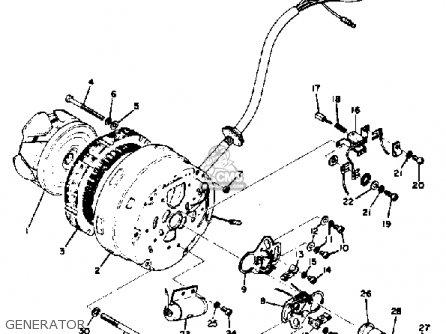 Yamaha Rd350 1973 Usa Generator
