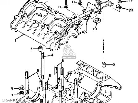 Yamaha Rd350 1973 1975 Crankcase