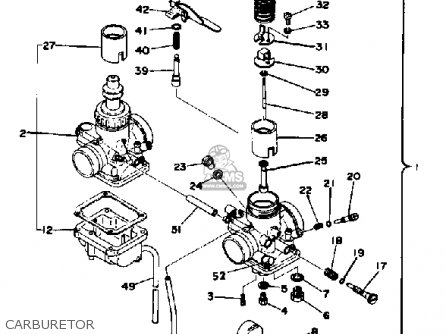 wiring diagram for yamaha 350 big bear with 72 Yamaha Rd 350 Wiring Diagram on 04 Rancher 400 Engine Diagram together with Timberwolf 250 4x4 Wiring Diagram as well Yamaha Warrior 350 Carb Adjustment as well 1989 Yamaha Warrior 350 Wiring Diagram moreover Yamaha Terra Pro Parts Diagram.