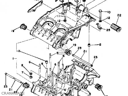 Yamaha RD400 1976 USA parts lists and schematics