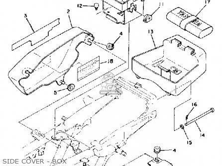 Yamaha Rd400 1979 Usa Parts Lists And Schematics
