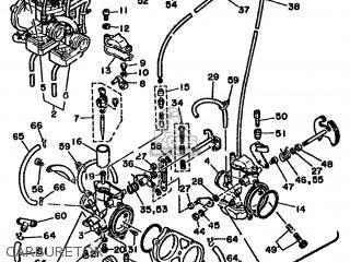 Yamaha Rd500lc 1985 1ge Europe 251ge-300e1 Carburetor