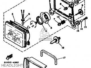 Yamaha Rd500lc 1985 1ge Europe 251ge-300e1 Headlight