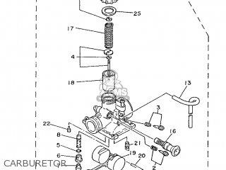 Yamaha Rd75lc 1991 1nm Spain 261nm-352s1 Carburetor