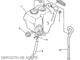 Yamaha Rd75lc 1991 1nm Spain 261nm-352s1 Deposito De Aceite