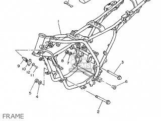 Yamaha Rd75lc 1991 1nm Spain 261nm-352s1 Frame