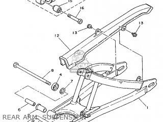 Yamaha Rd75lc 1991 1nm Spain 261nm-352s1 Rear Arm  Suspension