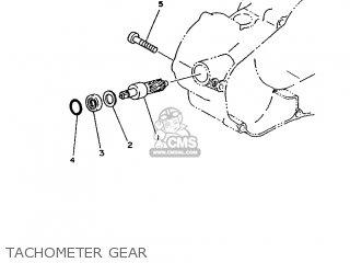Yamaha Rd75lc 1991 1nm Spain 261nm-352s1 Tachometer Gear