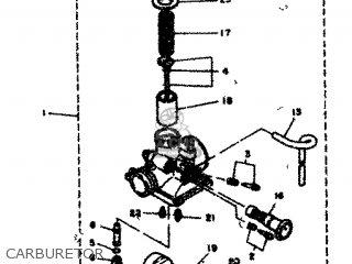 Yamaha Rd80 1982 12g Europe 2212g-300e1 Carburetor