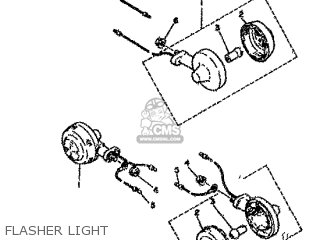 Yamaha Rd80 1982 12g Europe 2212g-300e1 Flasher Light