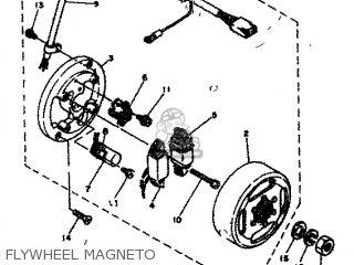 Yamaha Rd80 1982 12g Europe 2212g-300e1 Flywheel Magneto