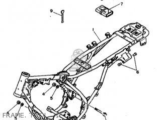 Yamaha Rd80 1982 12g Europe 2212g-300e1 Frame  Tool