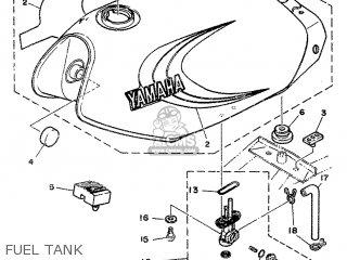 Yamaha Rd80 1982 12g Europe 2212g-300e1 Fuel Tank