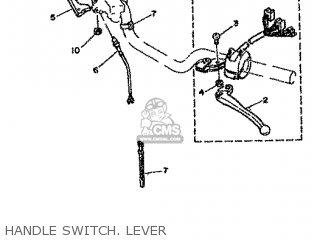 Yamaha Rd80 1982 12g Europe 2212g-300e1 Handle Switch  Lever