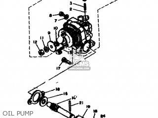 Yamaha Rd80 1982 12g Europe 2212g-300e1 Oil Pump