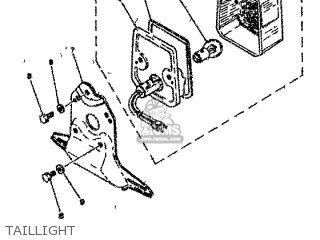 Yamaha Rd80 1982 12g Europe 2212g-300e1 Taillight