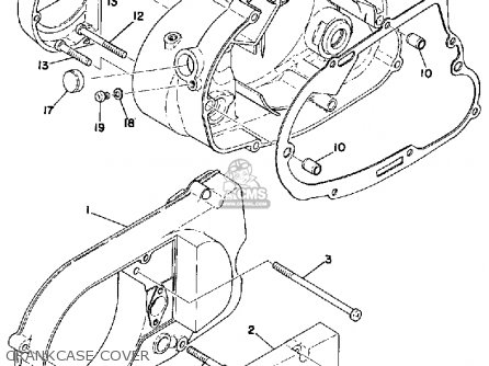 Yamaha Rs100 1975 Usa Parts Lists And Schematics