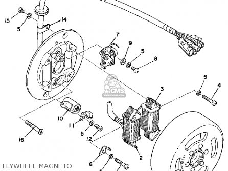 Wiring Diagram Yamaha Rs 100