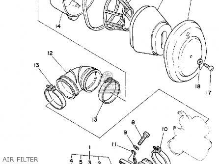 Yamaha Rt100 1993 P Usa Parts Lists And Schematics