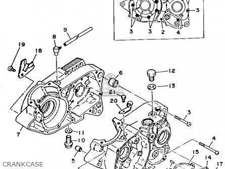 Yamaha Rt100 1994 R Usa Parts Lists And Schematics