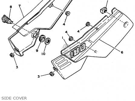 Yamaha Rt180 1991 M Usa Parts List Partsmanual Partsfiche