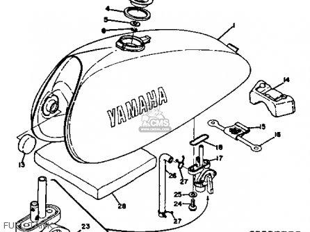 Yamaha Rt3 1972 1973 Usa Fuel Tank