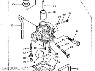Yamaha Rx100 1996 36l Europe 2636l-200e1 Carburetor