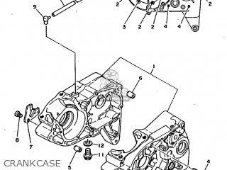 Yamaha Rx100 1996 36l Europe 2636l-200e1 Crankcase