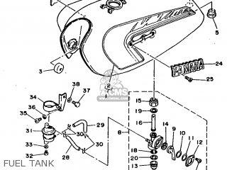 Yamaha Rx100 1996 36l Europe 2636l-200e1 Fuel Tank