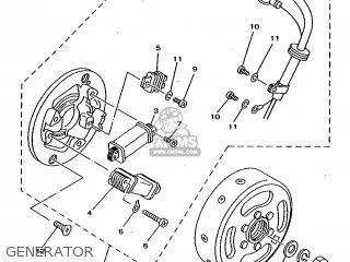 Yamaha Rx100 1996 36l Europe 2636l-200e1 Generator