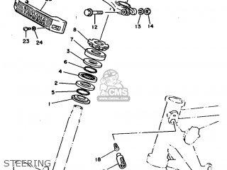Yamaha Rx100 1996 36l Europe 2636l-200e1 Steering