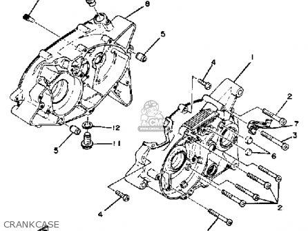 yamaha rx50k 1983  d  usa parts list partsmanual partsfiche
