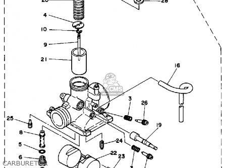 Yamaha Rx50k 50 Special  1983 1984 Carburetor