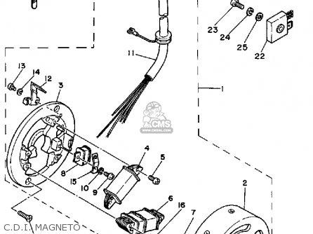 Yamaha Rx50k 50 Special  1983 1984 C d i  Magneto