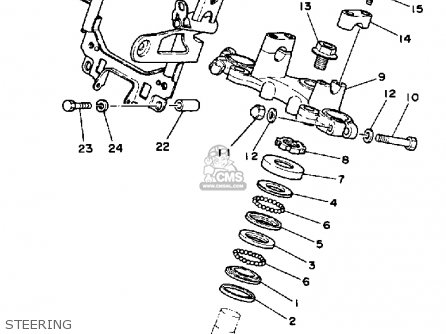 Yamaha Rz350 1985 F Usa Parts Lists And Schematics