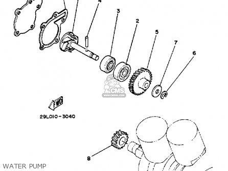1985 yamaha rz350 parts manual