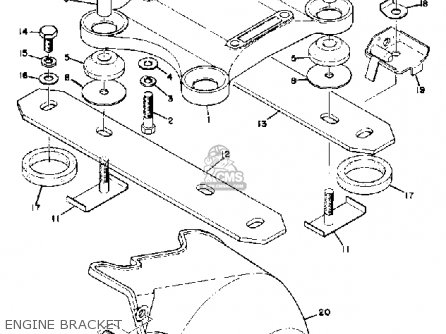 srv wiring diagram›currently reading  yamaha sl engine bracket  mediumyau d ed