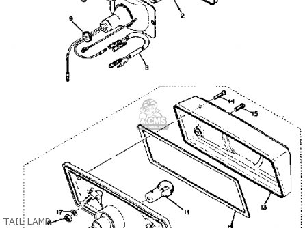 Partslist additionally Light Wiring Diagram With Indicator Led as well Partslist additionally Yamaha 79xs 1100 Wiring Diagram moreover Partslist. on tachometer wiring diagram motorcycle