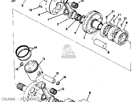 2018 Yamaha R1 Engine Drawing