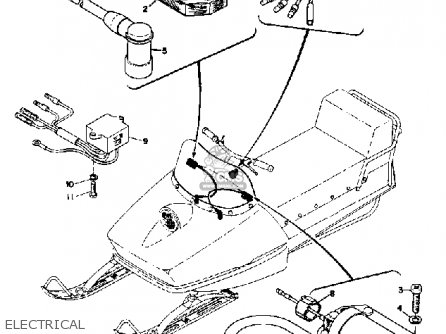 Yamaha Sl351 1968 Electrical