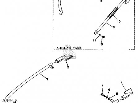 yamaha 292 wiring diagram yamaha sm292f 1974 parts list partsmanual partsfiche 2002 yamaha zuma wiring diagram #14