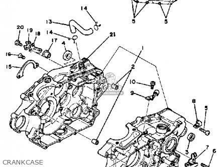 1981 Yamaha Sr250 Service Manual