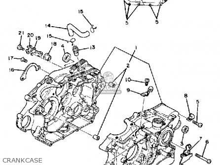 Yamaha Sr250 Exciter1 1982 C Usa Parts Lists And Schematics