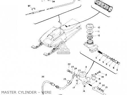 yamaha sr292 1974 parts list partsmanual partsfiche yamaha 1900cc wiring diagram