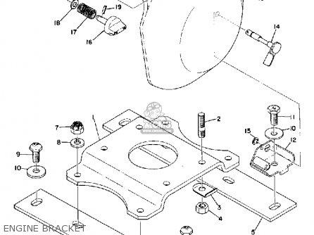 Yamaha Sr433b 1973 Parts Lists And Schematics