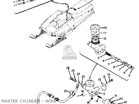 Yamaha Sr433c 1973 Parts Lists And Schematics